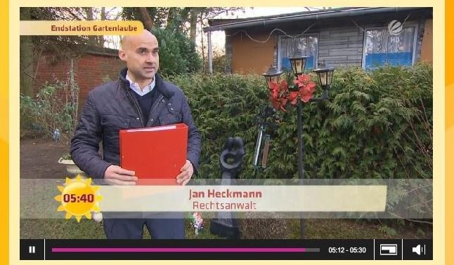 Rechtsanwalt Jan Heckmann in Sat. 1