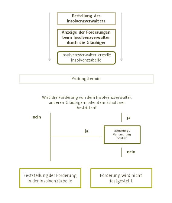 Anmeldung Forderungen